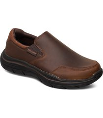 mens expected 2.0 loafers låga skor brun skechers