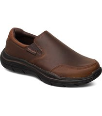mens expected 2.0 shoes business loafers brun skechers