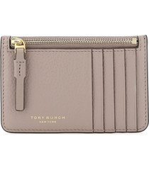 tory burch perry top-zip pouch card case