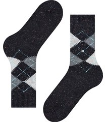 burlington socks tweed argle socks | black speck | 21924-3000