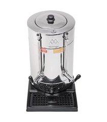 cafeteira elétrica master inox 6 litros preto marchesoni