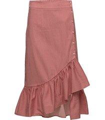 silva knälång kjol röd baum und pferdgarten
