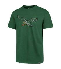 '47 brand philadelphia eagles men's throwback club t-shirt