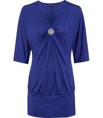 maglia con spilla (blu) - bodyflirt