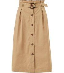kjol onlkate belted midi skirt