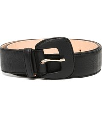 agl chewy textured belt - black