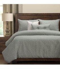 pologear belmont capri 6 piece cal king high end duvet set bedding