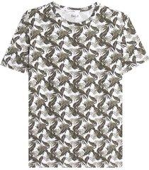 camiseta para hombre m/c esampado floral