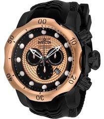 reloj invicta negro modelo 204ke para , colección venom