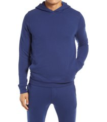 men's goodlife loop terry hoodie, size xx-large - blue