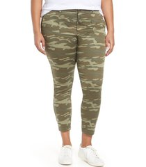 plus size women's caslon crop utility pants