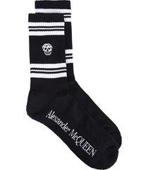 alexander mcqueen branded socks