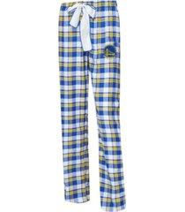 concepts sport women's golden state warriors piedmont flannel pajama pants