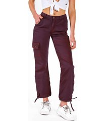 pantalon cinta purple raindoor