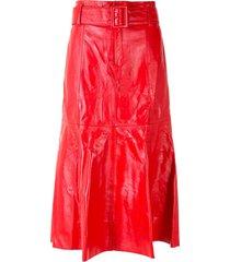 eva clochard skirt - red