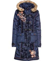 cappotto ricamato (blu) - rainbow