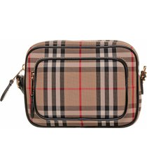 burberry burberry vintage check camera bag