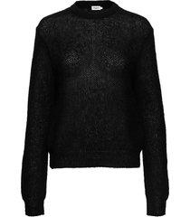 heather sweater gebreide trui zwart filippa k
