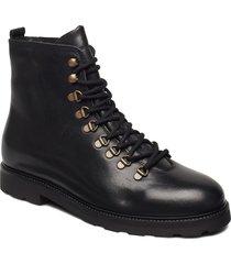 tediq hiker oxford combat boot snörade stövlar svart royal republiq
