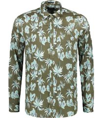 dstrezzed shirt light satin pineapple 303334/511