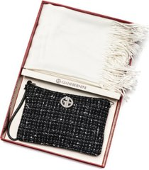 giani bernini wristlet with scarf gift set, created for macy's