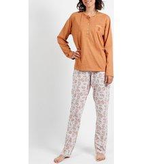pyjama's / nachthemden admas camel kasjmier pyjamatopjes en -broeken