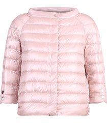 herno nylon padded cape jacket