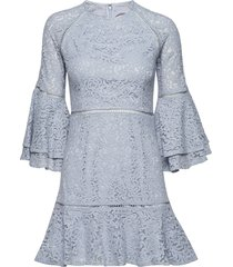 ettie mini dress korte jurk blauw by malina