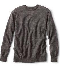 plaited crewneck sweater