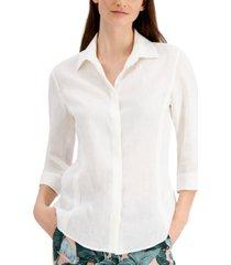 weekend max mara raoul linen shirt