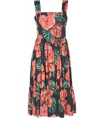 dolce & gabbana printed all-over dress