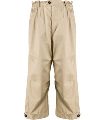 dsquared2 oversized workwear trousers - neutrals