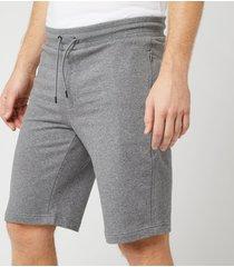 emporio armani men's bermuda jersey shorts - grey - l