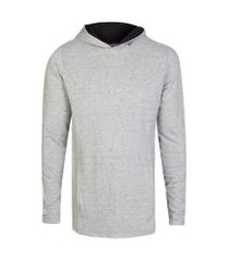camiseta masculina piquet mescla botonê mescla