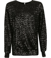 isabel marant sequin-coated sweater