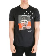 men's short sleeve t-shirt crew neckline jumper street-nox slim