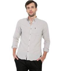 camisa gris colore