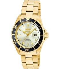reloj invicta 22065 oro acero inoxidable