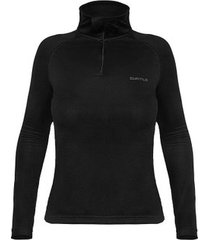 blusa zip thermoskin feminina