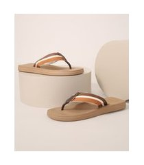 chinelo havaianas masculino urban way marrom