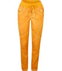 pantaloni cargo effetto usato (arancione) - bpc bonprix collection