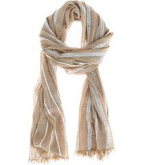 pañuelos stripes marrón i-d