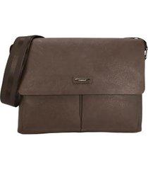 bolsa carteiro masculina para notebook scp8003u