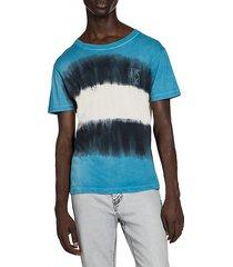 arrow tie-dye graphic print t-shirt