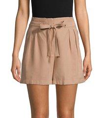 tie paperbag shorts