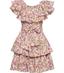 bohemian singoalla dress jurk knielengte multi/patroon by ti mo