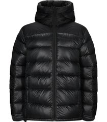 frost glacier down hood jacket