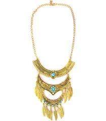 collar dorado sasmon cl-10283