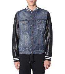 balmain regular fit jacket