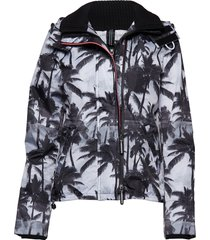 black edition windcheater sommarjacka tunn jacka multi/mönstrad superdry